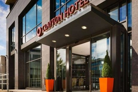 Cardiff: 1-Night Stay for 2 with Breakfast, Bubbly, Late Check-Out and Option for Dinner at 4* Clayton Hotel Cardiff