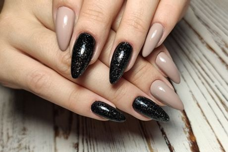 Manicure with Full Set of Acrylics at Touch of Beauty Laser Salon (34% Off)