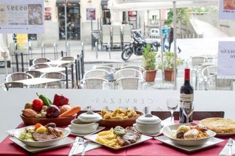 Tapeo de 5 medias raciones a elegir y bebida desde 14,95 € en Restaurante Abadia
