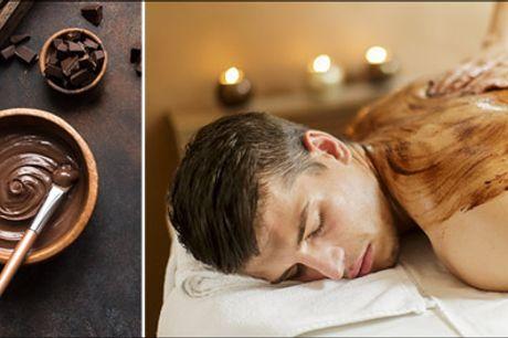 Skøn gaveide: Chokolade massage - En helt igennem luksuriøs wellnessbehandling ♥ Prøv 90 minutters fantastisk Chokolade-massage. Værdi kr. 850,-