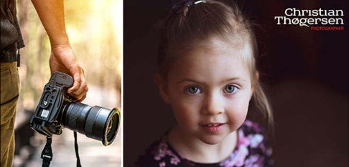 Portræt, nudeart, babyfotografering mm. - Årets gaveide: Professionelt og kreativt fotostudio - Du får 1.5 times fotografering hos Fotograf Christian Thøgersen. Værdi kr. 450,-