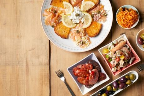 Tapas or Meat Platter to Share Between Pairs with Glass of Wine for Two or Four at El Molino (Up to 19% Off)