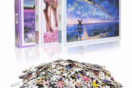 Popular Landscapes Jigsaw Puzzles for the whole family Made of premium material, exquisite appearance.1000 pieces jigsaw puzzle, develop patience and concentration.After finished, you can use it to decorate your living room, bedroom, etc.