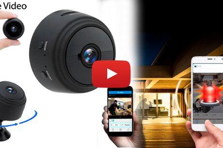 Mini Wifi overvågningskamera med bevægelsessensor