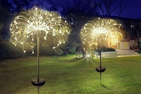 £12.99 instead of £29.99 (from CN Direct Biz) for a 90-LED outdoor solar firework-effect light, £16.99 for a 120-LED light, or £21.99 for a 150-LED light - save up to 57%