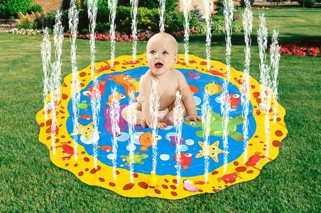 £12.99 instead of £37 (from Arther Gold) for a round inflatable water sprinkler for kids - cool off this summer! - save 65%