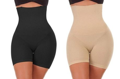 Shorts met hoge taille