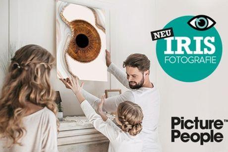 IRIS-Fotoshooting inkl. Ausdruck - Picture People & optional Spezialeffekt / Design (bis zu 83% sparen*)