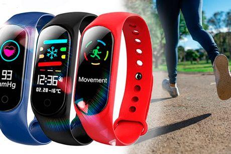 Fitness armbånd med 20 smarte funktioner