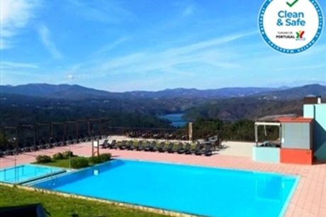 Hotel da Montanha 4*: 1 a 5 Noites com Pequeno Almoço, opção de Jantar e Acesso à Piscina e ao Spa desde 32€. Escapada com Vistas Deslumbrantes!