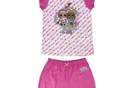 Pijama Infantil LOL Surprise! Cor de rosa 6 anos por 21.12€ PORTES INCLUÍDOS