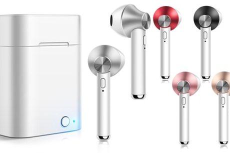 Bluetooth earbuds met oplaadcase
