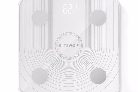 """Wi-Fi Smart Body Fat Scale. Body Fat Weighting Scale with """"G"""" Sensor.Accurate BIA Chip,BMI Data Analysis.WiFi Connection, Smart APP Control.All-round Health Datawith 13 Body Metrics.Dual Weighting Modes."""