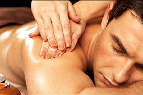 Prøv 60 min. skøn massage - Trænger du til en afspændende og lindrende massage. Med denne deal får du 60 min. massage af ryg, nakke og skuldre. Værdi kr. 300,-