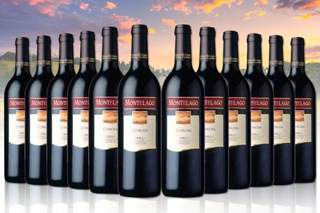 £59.99 instead of £106.80 (from San Jamon) for a 12-bottle case of Montelago Monastrell Jumilla red wine - save 44%