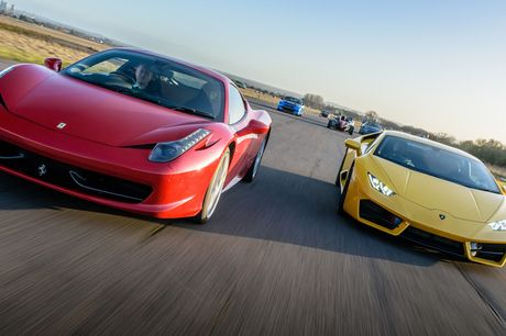 £39 for a three-lap driving experience in one car, £59 for six laps in two cars or £89 for nine laps in three cars at Car Chase Heroes - choose from seven cars and 16 locations and save up to 61%