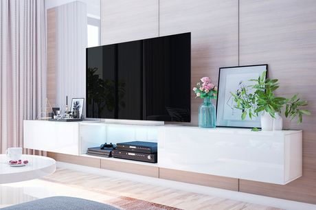 £79 instead of £139 (from Selsey Living) for a 100cm Larka TV stand, £169 for a 200cm TV stand or £259 for a 300m TV stand - save up to <DiscountPercentage>2173643%
