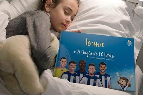 Neste livro, as crianças têm a hipótese de conhecer os seus ídolos, partilhar o balneário com eles e até jogar no estádio com que sempre sonharam! Livro infantil personalizado do FC Porto e nome à escolha, por apenas 25,40€