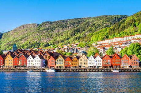 Det Hanseatiske Hotel. Miniferie centralt i Bergen Inkl. 1x2-retters menu - 2 overnatninger - 2 x morgenmad - 1 x 2-retters middag/buffet - Gratis kaffe i opholdsrummet - Gratis internet)