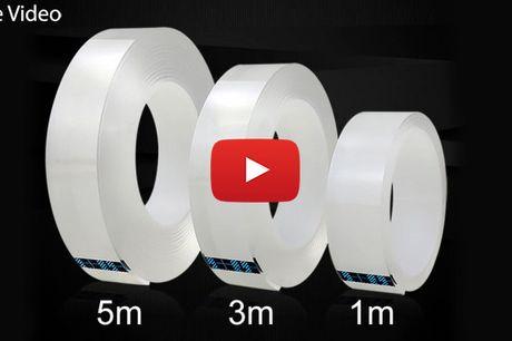 Vandtæt dobbeltsidet selvklæbende tape til smart ophæng på vægge