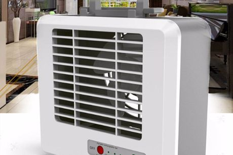 3 Speed Mini Air Conditioner. Enjoy Cool, Clean Air Anywhere.Comes with a Micro USB cable, you can recharge the cute fan with any USB power source.Long service life, low noise, ultra-thin appearance.It's lightweight & even convenient for travel! Great