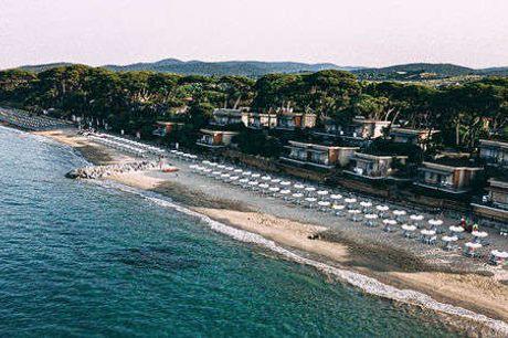 Golfo del Sole Hotel & Holiday Resort. Badeferie i Italien Inkl. halvpension og velkomstdrink - 7 overnatninger m. morgenmad - 7 x 3-retters menu/buffet - 1 x velkomstdrink - 1 x vinsmagning - 1 fl. vand på vær. til deling)
