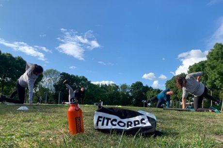 Sporten in Westerpark: 5, 15 of 25 keer meedoen met een workout naar keuze bij Fitcorps