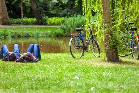 Découverte nature Amsterdam : studio Queen/Deluxe (King) avec location de vélo à l'Hotel2Stay près de Sloterdijk