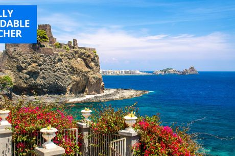 £85 -- Sicily: boutique coastal hotel stay for 2, 51% off