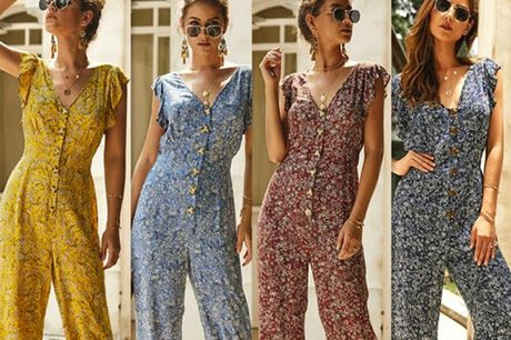 £11.99 for a women's boho summer jumpsuit from Hey4Beauty