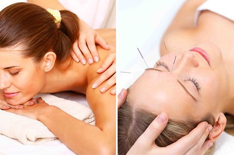 Acupunctuurbehandeling evt. + massage