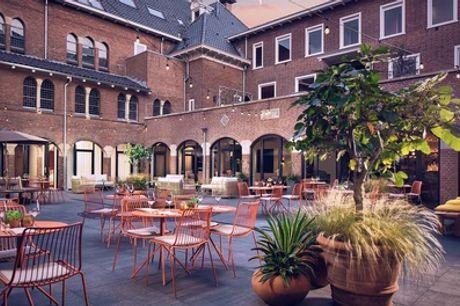 Ontdek de natuur bij Utrecht: tweepersoonskamer incl. ontbijt, welkomstdrankje en late check-out in The Anthony Hotel