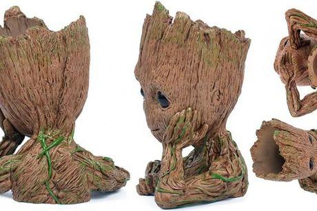 Action figuren Groot som blomsterkrukker