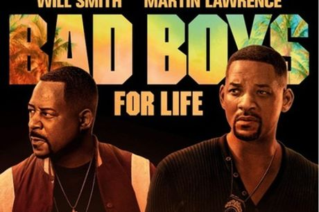 Tickets to see Bad Boys for Life