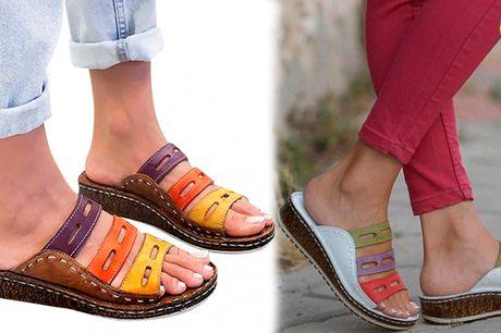 Åbne Sandaler til kvinder - perfekt til strandturen