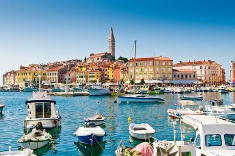 Scopri la costa istriana della Croazia, Istria, Croazia. undefined