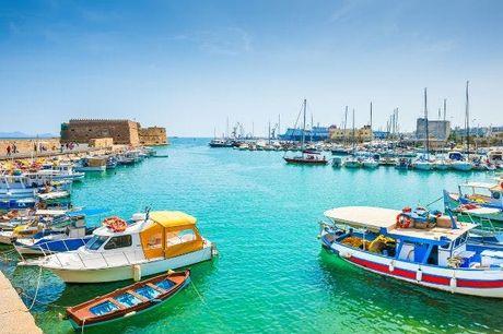 Fly & Drive Kreta mit Weinprobe, Hersonissos, Agia Marina, Rethymnon, Kreta, Griechenland