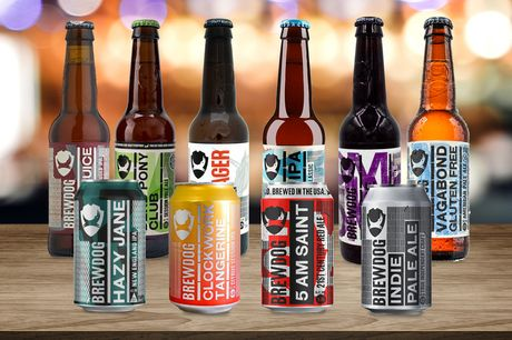 £39 (from Anielas) for a pack of 16 Brewdog mixed beers!