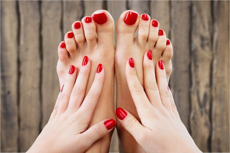 From £12 for a gel Shellac nail polish application for hands or toes, or from £14 for a deluxe manicure or pedicure including a massage, mask and nail polish at Singhar Beauty Clinic, Oxford Street - save up to 45%