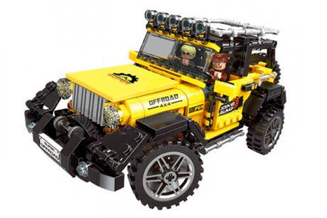 Byg din egen Technic Jeep med 610 stk. byggeklodser