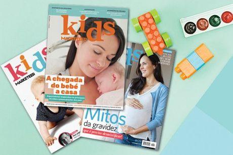 A revista indispensável para todos os pais e futuros pais. Subscrição anual da Revista Kids Marketeer por apenas 8,50€