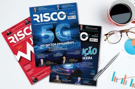 Revista de referência para os pequenos e grandes investidores. Subscrição anual da Revista Risco por apenas 6,80€