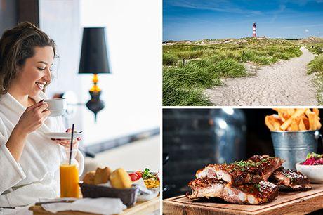 Overnachting(en) + ontbijt voor 2 vlak bij de zee