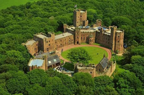 From £115 (at Peckforton Castle) for an overnight 4* Cheshire stay for two people with breakfast and two-course brasserie dining, or from £135 to include three-course restaurant dining - save up to 51%