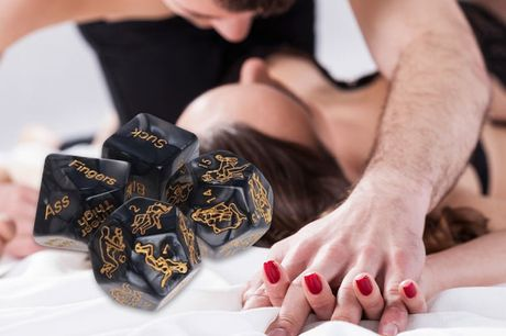 £7.99 for a set of four adult love dice from Hey4Beauty