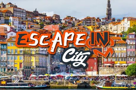 """Deixe-se levar pelas histórias e """"vista"""" a pele de personagens, resolva enigmas e quebra-cabeças na cidade. Escape Game, 1 a 5 pessoas por apenas 24,90€"""