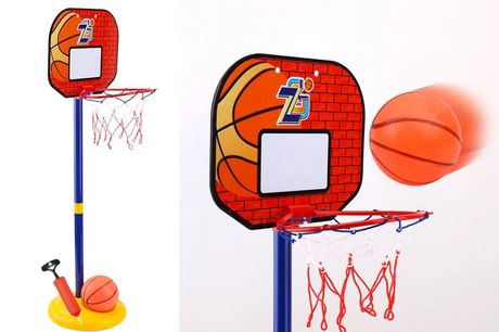 £16.99 instead of £49.99 (from Magic Trend) for a small kids basketball hoop, or £24.99 for a kids large basketball hoop - save up to 66%