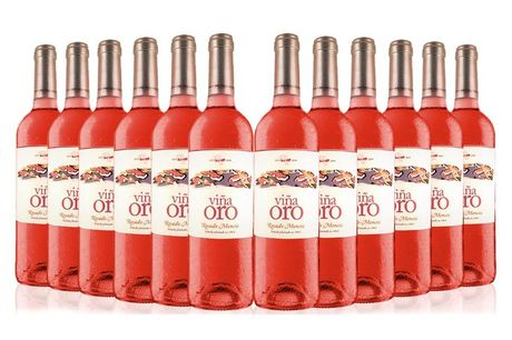£59.99 instead of £137.40 (from San Jamon) for a 12-bottle case of Viña Oro wine - save 56%