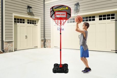 £14.99 instead of £39.99 (from Eurotrade LTD) for a kids' basketball hoop set - shoot some hoops! - save 58%