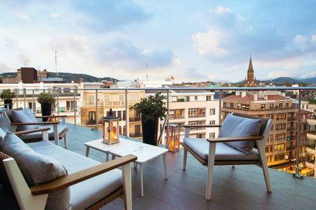 España San Sebastián - Hotel de Londres y de Inglaterra 4* desde 63,00 €. Edificio histórico con vistas a la bahía de la Concha